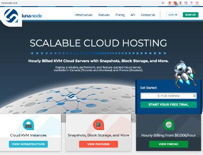 LunaNode BTCPay Server