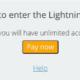 Wie bezahlt man bei der Lightning Paywall?
