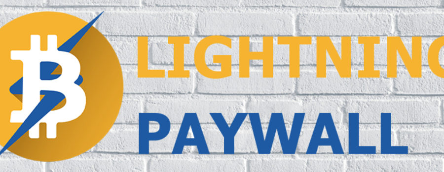 WordPress Lightning Paywall für den BTCPay Server von Coincharge